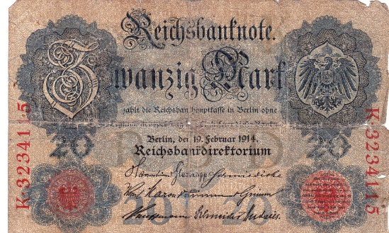Germany 20 Marks 1914